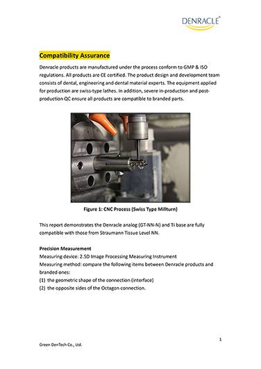 Denracle Quality Assurance_precision