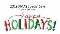 2019 Xmas Special Sale (2019/11/11~12/31)