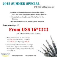 2018 Denracle Summer Sale - Cutting Tools
